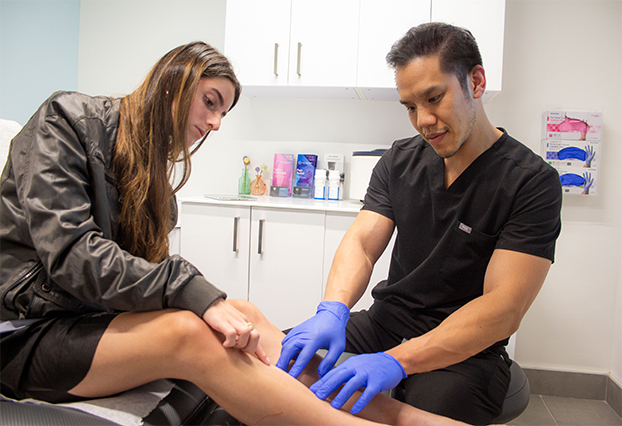 In this article, we discuss laser treatment for spider veins, laser treatment for varicose veins, how much does laser vein removal cost, and where to find one of the best medical spa in Memorial for laser vein removal.